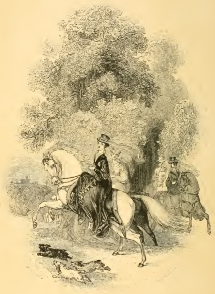 Image from The Young Lady's Equestrian Manual (1838), at Archive.org